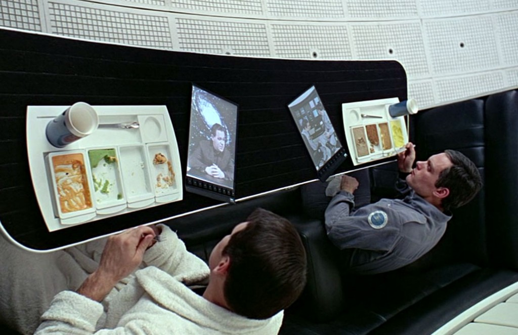 Tablets in 2001 A Space Odyssey