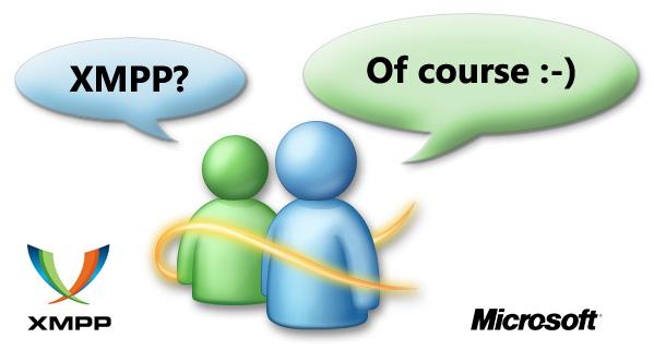 Live Messenger and XMPP
