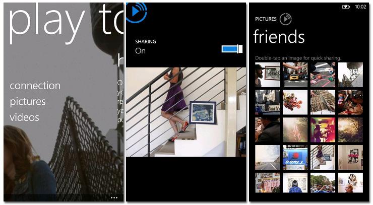 Nokia PlayTo for Windows Phone