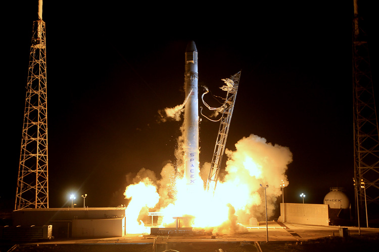 SpaceX's Falcon 9 launched