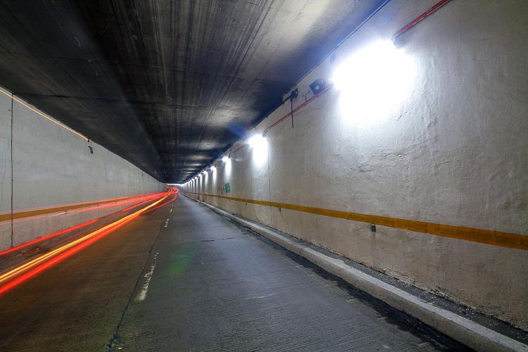 watervalboven tunnel lighting