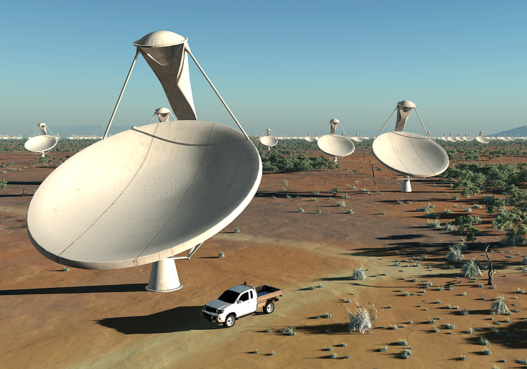 The Square Kilometre Array