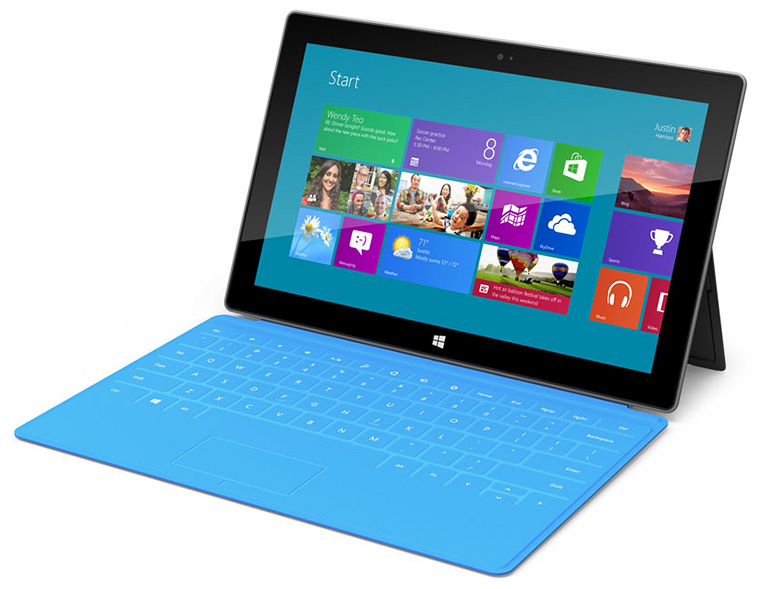 New Microsoft Surface Tablet