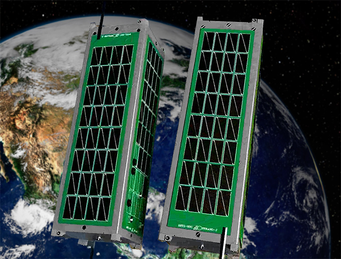 STRaND-2 Docking Nanosatellites