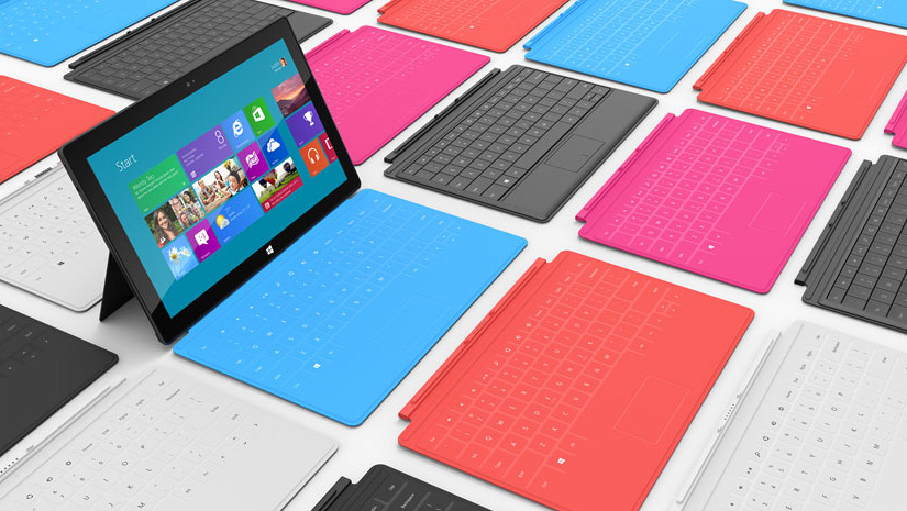Surface Covers with multitouch keyboard
