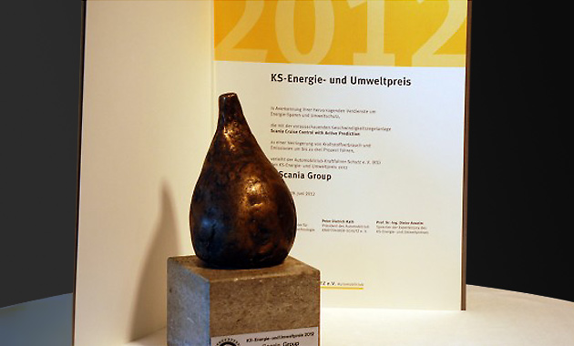 Scania awarded German Energy and Environmental Prize for 2012